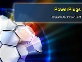 PowerPoint template displaying science Background horizontal, bitmap copy in the background.