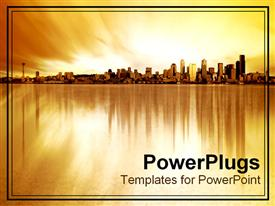 PowerPoint template displaying citylife807 in the background.
