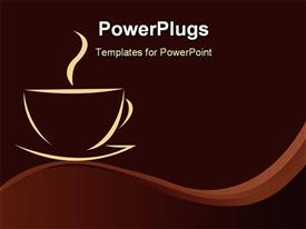 Coffee background abstract wallpaper presentation background