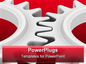 Cogs powerpoint design layout