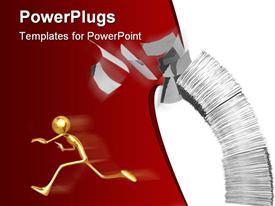 Concept & Presentation Figure 3D powerpoint design layout