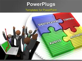 Configuration Management, used to establish and maintain the integrity of work products powerpoint template