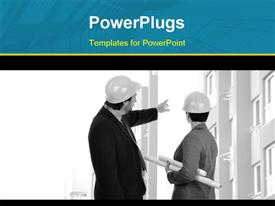 Construction Concept powerpoint template