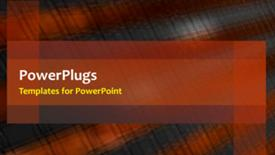 PowerPoint template displaying a short video of an abstract colored  background - widescreen format