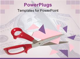Cutting corners to help the budget may be necessary when time and/or money are in short supply powerpoint template