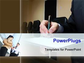 Business Deal presentation background