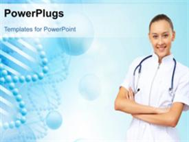 Medical background powerpoint theme
