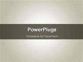 PowerPoint template displaying grunge noise beige texture. Vector depiction in the background.