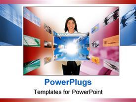 E-Business powerpoint template