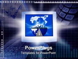 E-Business template for powerpoint
