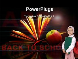 Back to School background powerpoint theme