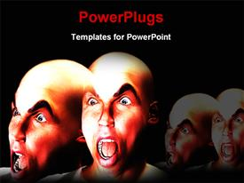 Horrible face template for powerpoint
