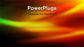 PowerPoint template displaying computer generated flames, perfect as a texture, presentation, etc