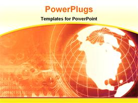 Global information powerpoint template