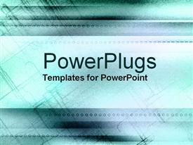 PowerPoint template displaying shaded aqua with patches of light