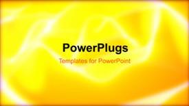 PowerPoint template displaying abstract energy concept in the background.