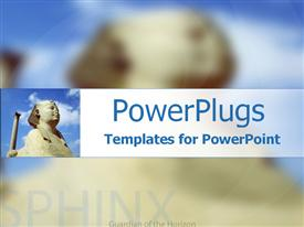 Sphinx guardian of the horizon powerpoint template