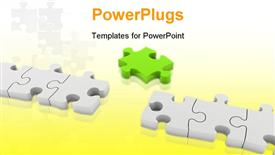 PowerPoint template displaying important part