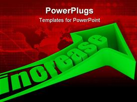 High resolution 3D render template for powerpoint