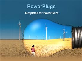 Power industry powerpoint design layout