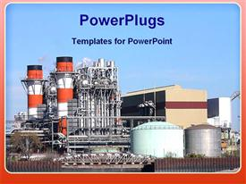Industrial plant powerpoint design layout