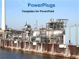 Image of an industry powerpoint template