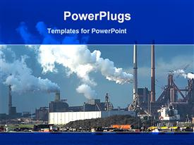 Large industry powerpoint theme