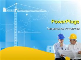 Industry background template for powerpoint