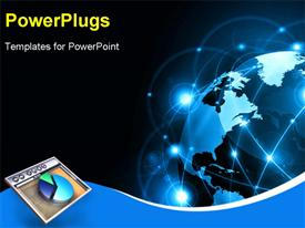 PowerPoint template displaying best Internet Concept of global business