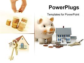 Mortgage concept template for powerpoint