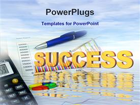 Success in investment powerpoint template