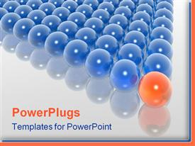 Leader of group powerpoint theme