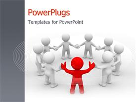 Leadership_0214 powerpoint template