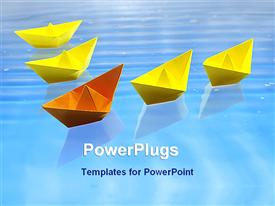 Leadership concept powerpoint theme