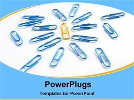 Picture showing leadership template for powerpoint