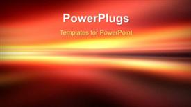 Abstract motion background template for powerpoint