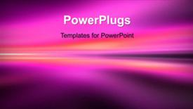 PowerPoint template displaying a few seconds video of an abstract background - widescreen format