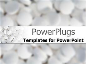 PowerPoint template displaying drugs in production
