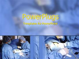 Surgeons at work powerpoint theme