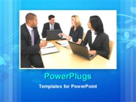 Business meeting powerpoint theme