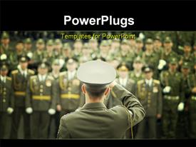 Military photo template for powerpoint