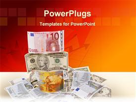 Money image powerpoint design layout