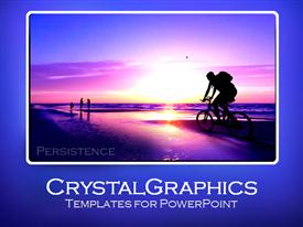 MotivationalPersistence108 powerpoint theme