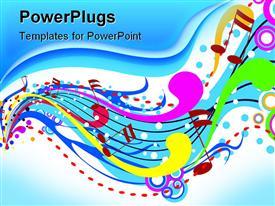 Music Wave Illustration presentation background