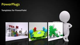 Business Team powerpoint design layout