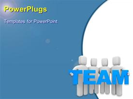 Team powerpoint design layout