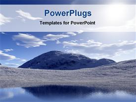 PowerPoint template displaying beauty of nature