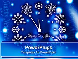 Christmas. Christmas background. snow background. happy new year. new year time template for powerpoint