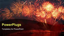 Fireworks powerpoint design layout