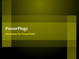 PowerPoint template displaying electric background